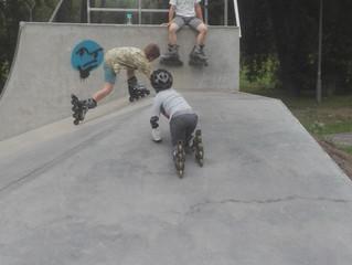 Przygody w skateparku