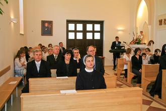 Wyjście z kaplicy