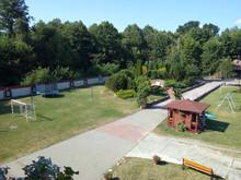 Widok na cały ogród