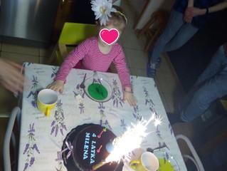 Urodziny najmłodszej wychowanki