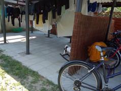 Suszarnia i parking rowerów