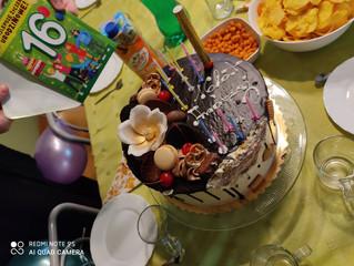 Urodziny Andrzeja, Sabiny i Natalii