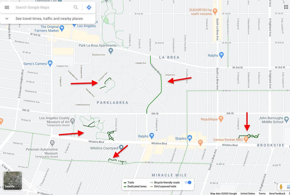 bike infrastructure, LA bike infrastructure