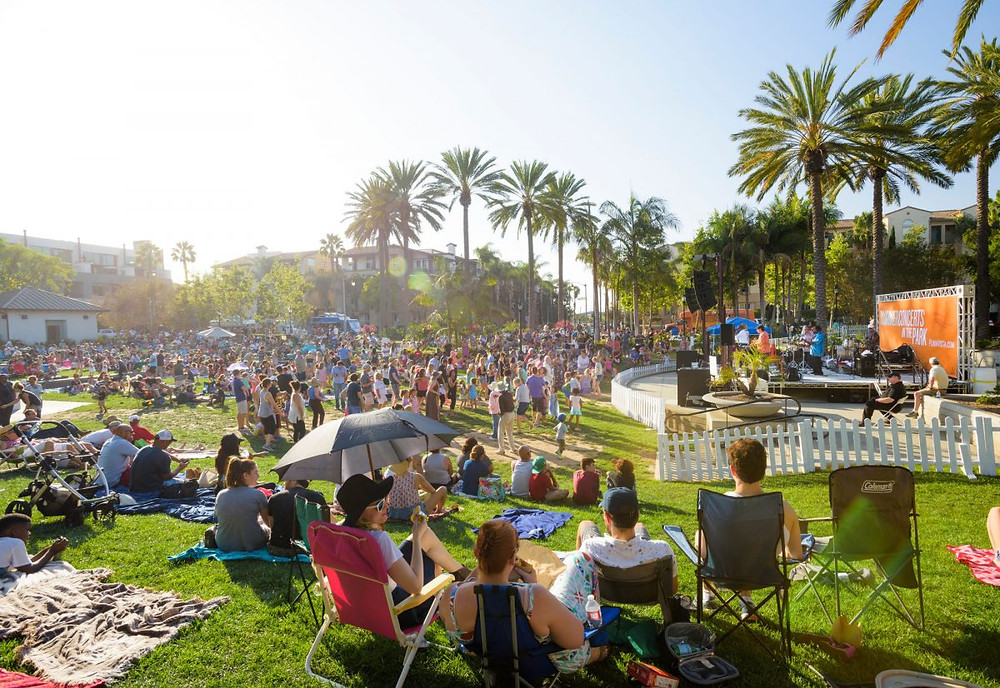 Playa Vista summer concert, Playa Vista movie in the park