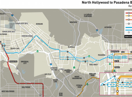 Study for BRT in Eagle Rock Continues