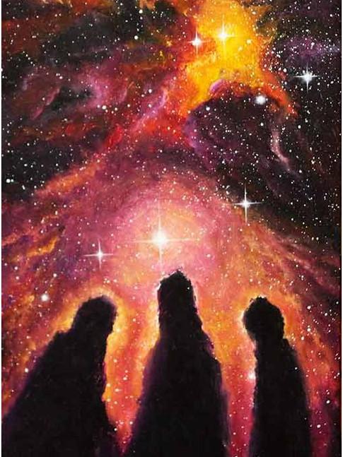 Туманность Три мудреца