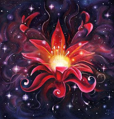 Туманность красный цветок