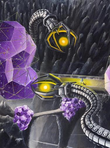 Нарушитель в саду вселенных