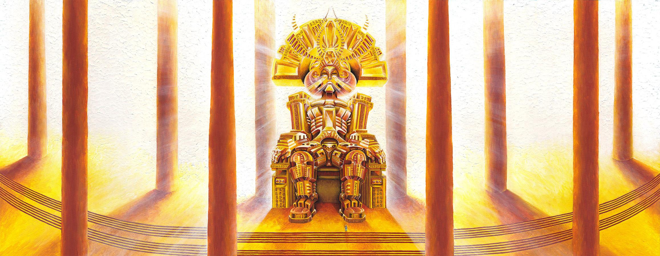 Храм Бога-Светотворца (триптих)
