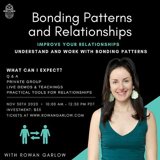 November 2020 Online Workshop: Bonding Patterns