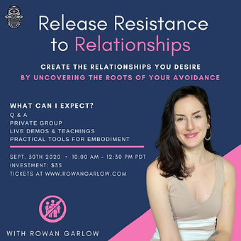Release Resistance to Relationships