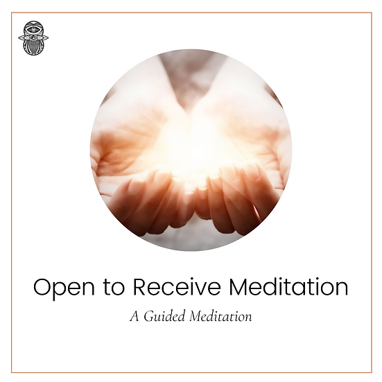 Open to Receive Meditation