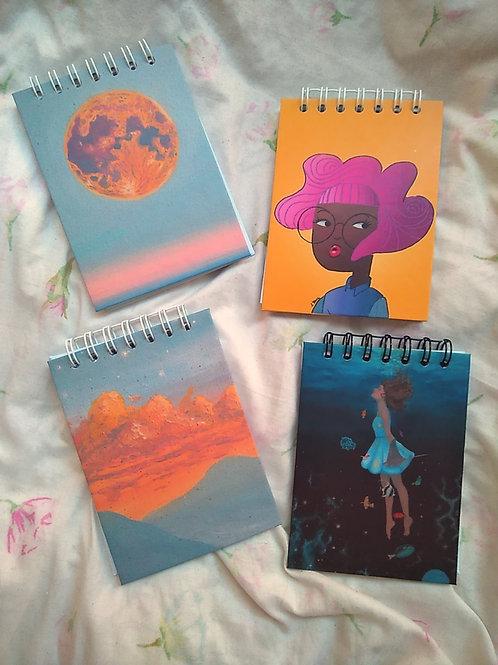 Caderninho sem pauta