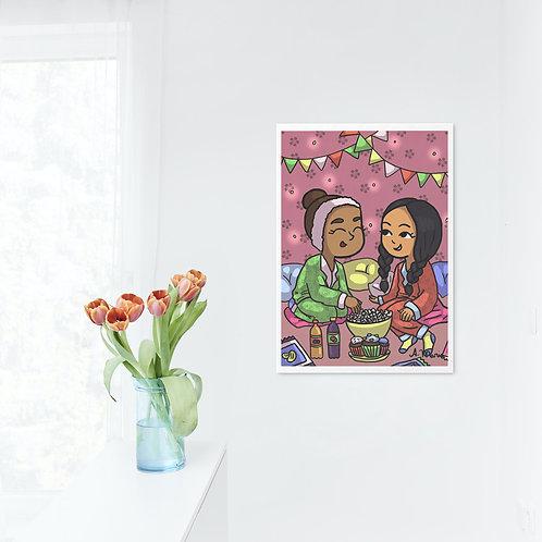 Girly wall decor printables