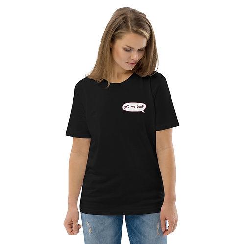 Get Me Food Unisex organic cotton t-shirt