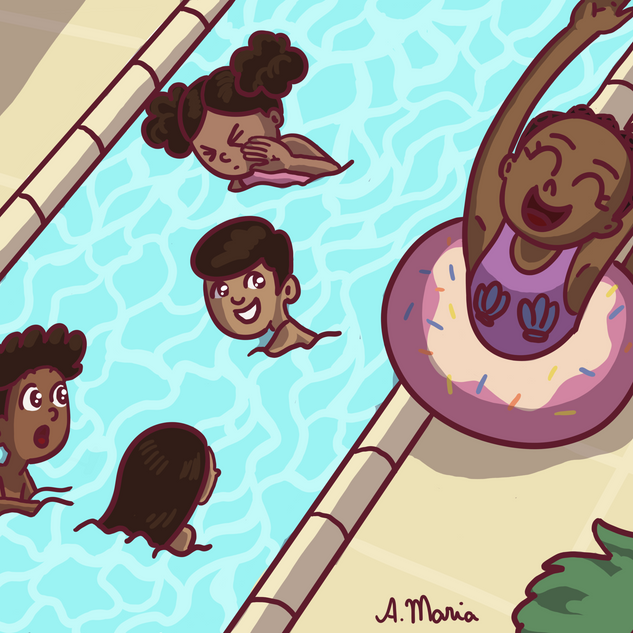 Day at the waterpark