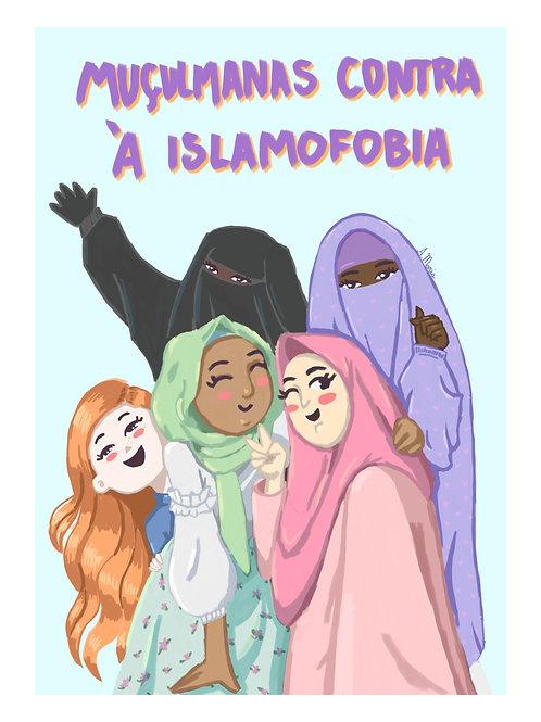 "Print digital "" Muçulmanas contra à islamofobia """
