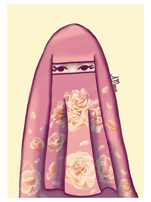 """Print digital """" Niqabi """""""