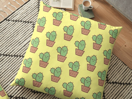 10 Cactus room decor ideas to redecorate your room on quarantine