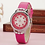 Thumbnail: Children Watch Cute Princess Waterproof Leather