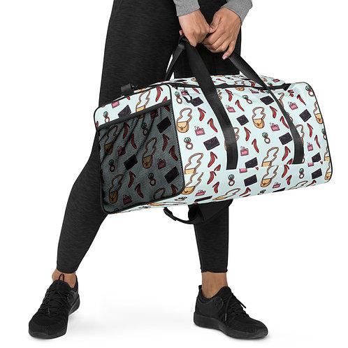 Fashion design print Duffle bag