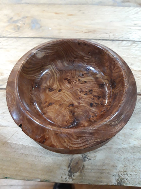 Elm Burl Bowl