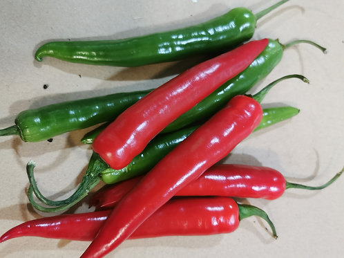 Red  Chilli peppers per 1/4kg