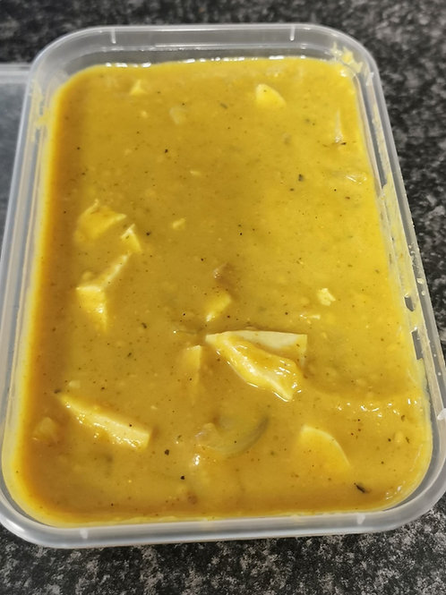 Homemade Chicken Curry takeaway