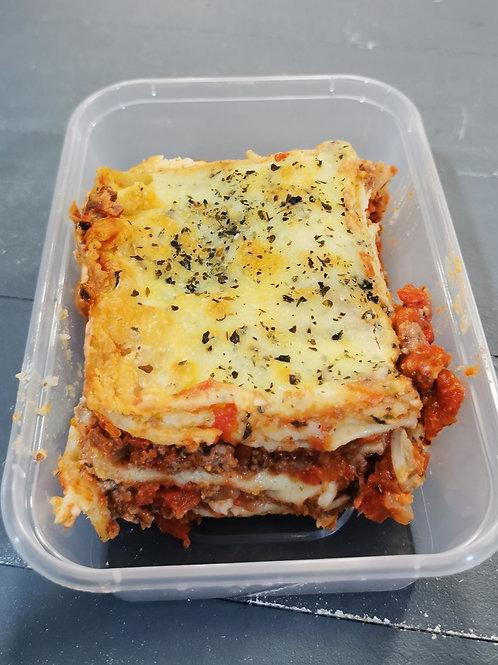 Homemade Lasagne takeaway
