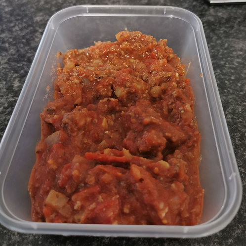 Family deal Homemade Bolognese takeaway 4 portion