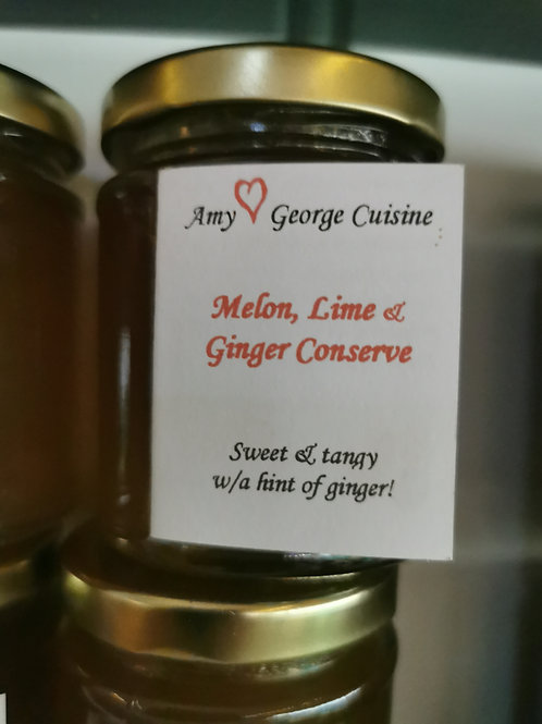 Melon Lime Ginger Conserve