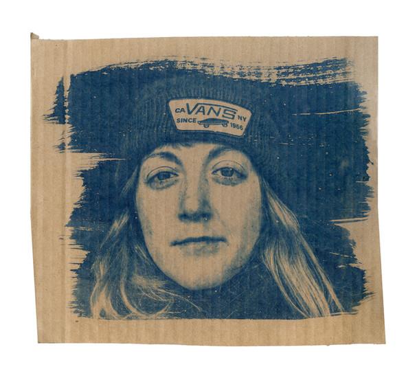Cardboard Portrait Series