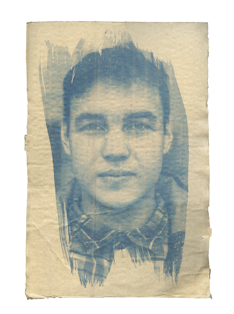 Cardboard Portrait of Michael