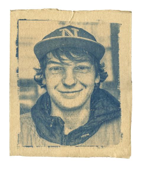 Cardboard Portrait of Zach