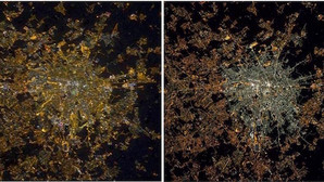 As street lights change, the historical centre of Rome changes, too