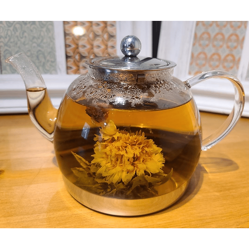 Angelic Chrysanthemum Blooming Flower (Handcrafted Tea Flower)