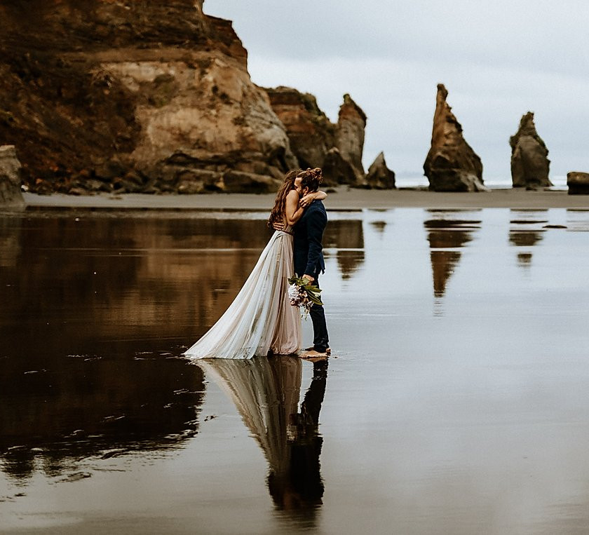 New Zeland elopement by Francis Fraioli photograph