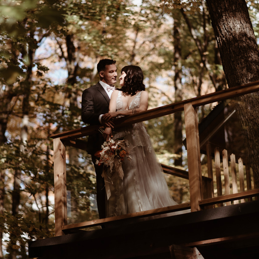 Tree House-Tingwick-Quebec-Elopement-Jessica-Grenon-Photograph