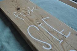 Holzbeschriftung für SIE