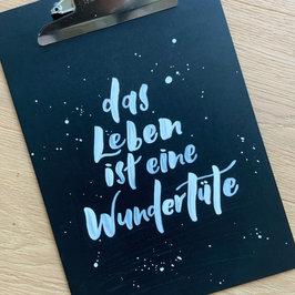 Lettering Wundertüte
