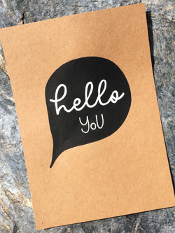 Lettering helloyou