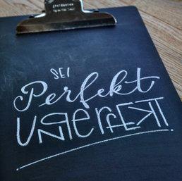 Lettering Perfektunperfekt