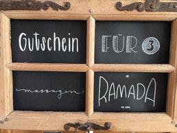 Lettering GutscheinMassagen