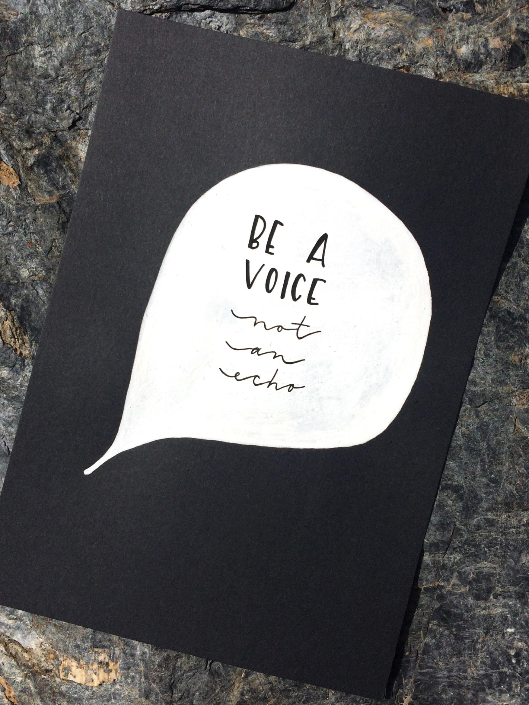 Lettering beavoice