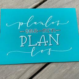 Lettering planlos