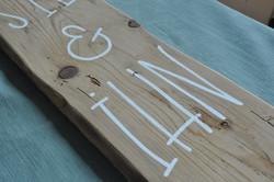 Holzbeschriftung für IHN