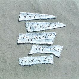 Kalligrafie Fundsache