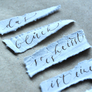 Kalligrafie Walnusstinte