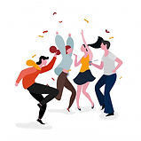 dancing-party-group-illustration_24797-8