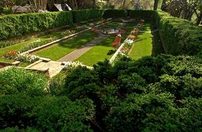 Open Spaces: The Sunken Garden at Agecroft Hall